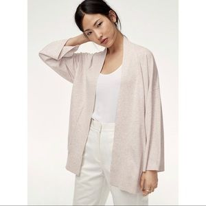 Aritzia Babaton Grey Cardigan Medium (2)